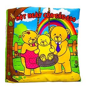 Sách Vải Một Ngày Của Gấu Boo Pipovietnam Boo