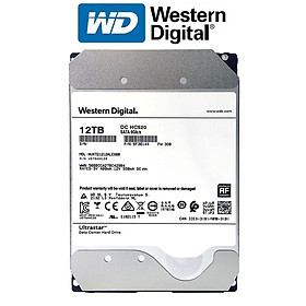 Ổ cứng HDD Western Digital Ultrastar 12TB 3.5 inch Sata 3 - Hàng Nhập Khẩu