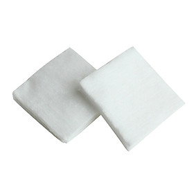Khăn Bông gòn cắt miếng 10cm x 10cm 500 gam  dùng thay khăn cotton