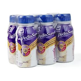 2 Hộp Sữa Bột Pha Sẵn Abbott PediaSure BA Hương Vani (Lốc 6 Chai x 237ml )