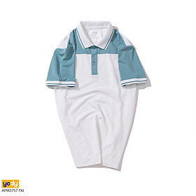Áo Phông Polo Nam YODY Phối Ngực Chất Liệu Coolmax Thoáng Mát Co Giãn Thấm Hút Mồ Hôi Tốt - APM3757