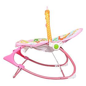 Ghế rung trẻ em có phát nhạc thanh treo đồ chơi