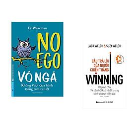 Combo 2 cuốn sách: VÔ NGÃ - không vượt qua mình đừng làm gì hết + Câu trả lời của người chiến thắng