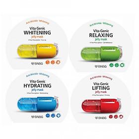 Bộ 10 gói Mặt nạ giấy Banobagi Vita Genic Jelly Mask (Lifting, Whitening, Relaxing, Hydrating)