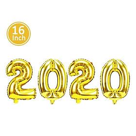 2020 Number Balloon 2020 Air Balloon Creative Foil Happy New Year Kids Bar
