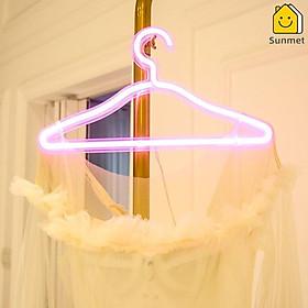 Đèn LED Hình Móc Áo Phụ Kiện Chụp Ảnh Sử Dụng Cổng USB Trang Trí Nội Thất Nhà Hàng Tiệm Thời Trang