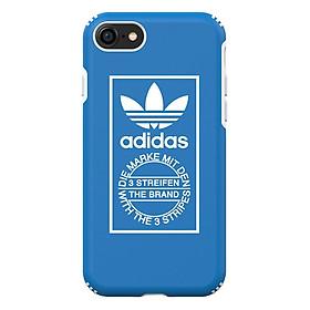 Ốp Lưng iPhone 8 / 7 / 6S Adidas TPU Hard - Blue White - Hàng Chính Hãng