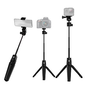 7-Section Extendable Aluminum Alloy Selfie Stick Mobile Phone Camera Universal Selfie Stick Integrated with Tabletop