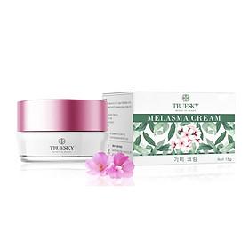 Kem làm mờ nám da Truesky chiết xuất hoa anh đào giúp dưỡng trắng da, làm mờ thâm nám, chống lão hoá 15g - Melasma Cream