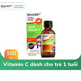 Brauer Vitamin C dạng lỏng 100ML