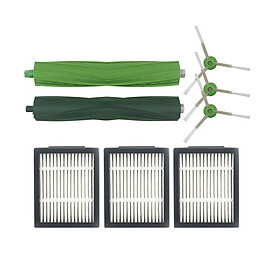 7Pcs/Set Side Brush+ Filter Screen + Main Brush for irobot i7 Vacuum Cleaner Accessaries