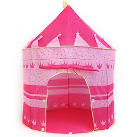 Lều chơi cho bé BIDAMOP-màu hồng