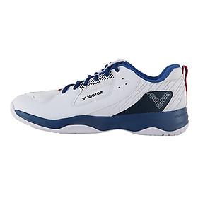 Giày cầu lông victor, giày thể thao mẫu mới A311AF màu trắng xanh dành cho nam