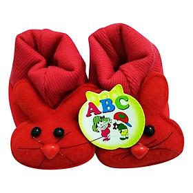 Giày Sơ Sinh Baby Newborn Bảo Thịnh - Đỏ (10cm)