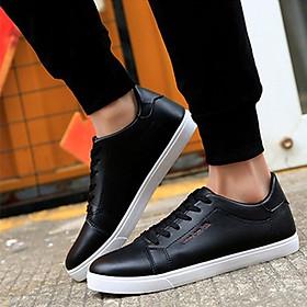 Giày thể thao nam đế bằng Haint Boutique 102 đen