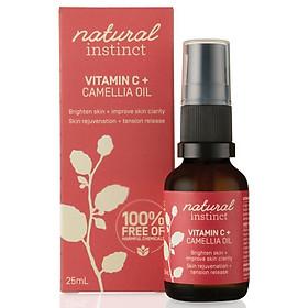Natural Instinct Vitamin C Camellia Oil 25ml