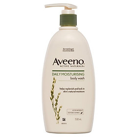 Aveeno Active Naturals Daily Moisturising Wash 532mL