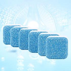 Viên Tẩy Lồng Máy Giặt Khử Sạch Cặn Bẩn, Vệ Sinh Máy Giặt Diệt Khuẩn Và Khử Mùi Lồng Máy - Đa Năng Phù Hợp Sử Dụng Với Nhiều Loại Máy Giặt (Hộp 6 Viên)
