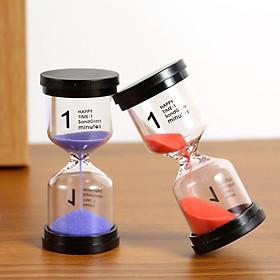 6 Pcs Sandglass Sand Timer 1/ 3/ 5/ 10/ 15/ 30 Minutes Sandglass Timer Sand Clock for Kids Games Classroom Kitchen Home