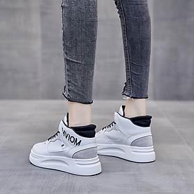 Giày thể thao nữ giày sneaker nữ đế sóng
