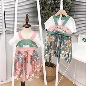 Đầm Hanbok Áo dài bé gái