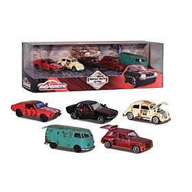 Bộ 5 Xe Mô Hình MAJORETTE Vintage 5 Pieces Giftpack Rusty - 212052012