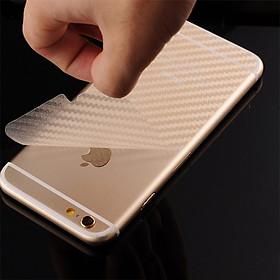 Miếng Dán Carbon Mặt Sau Của Dòng Máy Iphone