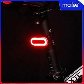 Led Đuôi Chớp Nhấp Nháy Xe Đạp BK400 100 Lumens Độ Sáng Cao 6 Chế Độ Sạc Điện USB MaiLee