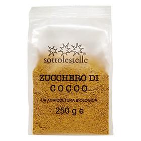 Đường Dừa Hữu Cơ Sottolestelle 250g Organic Coconut Sugar