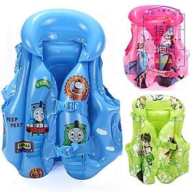 Áo phao bơi hoạt hình trẻ em cực xinh (Giao mẫu ngẫu nhiên)