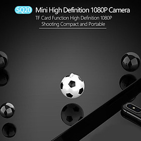SQ20 Football Mini Camera 1080P FHD 2MP Motion Detection Camcorder Action DV