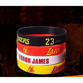 Vòng tay cao su bóng rổ James Bộ 4 vòng tay nam - CS24