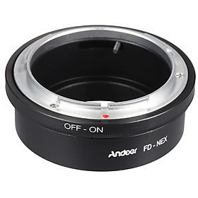 Đế Chuyển Đổi Ống Kính Canon FD Sang NEX Andoer Cho Máy Ảnh Sony NEX E