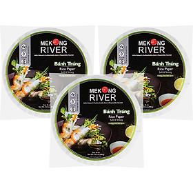 Combo 3 Túi Bánh Tráng Mekong River 16cm 300g