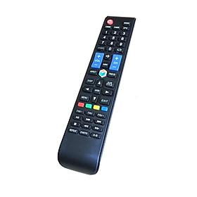 Remote Điều Khiển Dành Cho Smart TV, Internet Tivi, Ti Vi Thông Minh ASANZO (Kèm pin AAA Maxell)