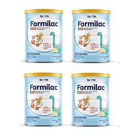 Bộ 4 Lon Sữa bột Formilac GROW (trên 1 tuổi) - 900g
