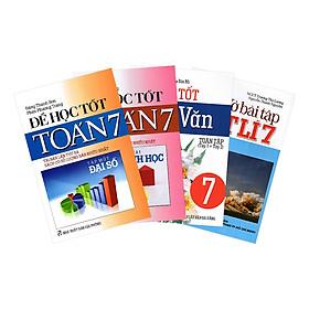 Combo Lớp 7: Để Học Toán 7 Hình Học, Để Học Toán 7 Đại Số, Để Học Tốt Ngữ Văn, Vở Bài Tập Vật Lí