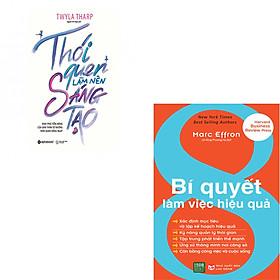 Combo 2 Cuốn Sách:  Thói Quen Làm Nên Sáng Tạo  + 8 Bí Quyết Làm Việc Hiệu Quả