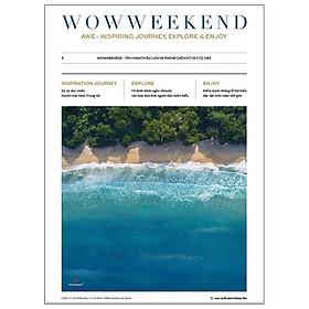 Tạp Chí Wowweekend Vol 3 - Về Với Biển