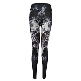 Tight Digital Print Yoga Sports And Hips High Waist Thread Women Pants