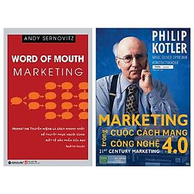 Combo 2 Cuốn: Marketing Truyền Miệng + Marketing Trong Cuộc Cách Mạng Công Nghệ 4.0