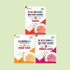 Combo ôn luyện thi trắc nghiệm THPT quốc gia năm 2019 khối D: Toán - Văn - Anh