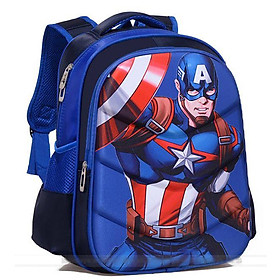 Balo siêu nhân Captain America BL74AM