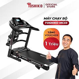 Máy chạy Toshiko MC55 giúp tăng cơ, giảm mỡ tại nhà, bảo hành 3 năm