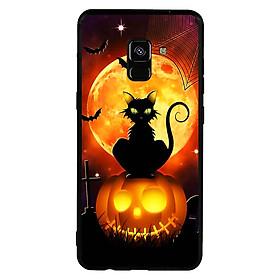 Hình đại diện sản phẩm Ốp lưng Halloween viền TPU cho điện thoại Samsung Galaxy A8 Plus 2018 - Mẫu 05