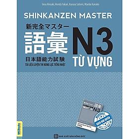 Shinkanzen Master  N3 Từ vựng (Tài liệu luyện thi năng lực tiếng nhật N3 Từ vựng)