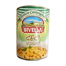 Đậu gà Ceci Chick Pea Divella đóng hộp 400gr