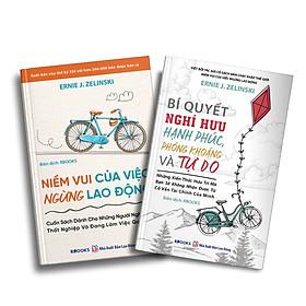 Bộ Sách 2 Cuốn: Niềm Vui Của Việc Ngừng Lao Động + Bí Quyết Nghỉ Hưu Hạnh Phúc, Phóng Khoáng Và Tự Do