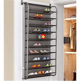 Kệ giày treo tường 10 tầng tiết kiệm diện tích