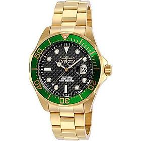 Invicta Men's 14358 Pro Diver Analog Display Swiss Quartz Gold Watch